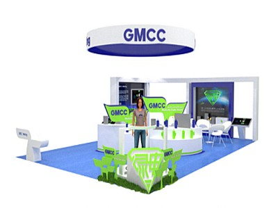 GMCC Foreign Exhibition Design Structures